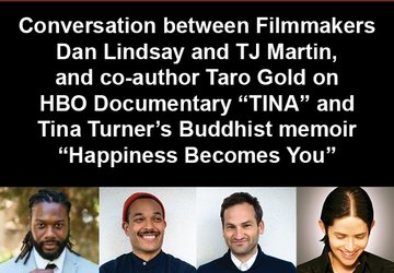 "Conversation with filmmakers and co-author: HBO Documentary ""TINA"" and ""Happiness Becomes You"""