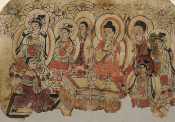 Frontpiece of the Diamond Sutra