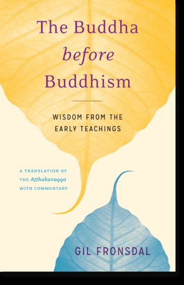 Book Cover: The Buddha before Buddhism